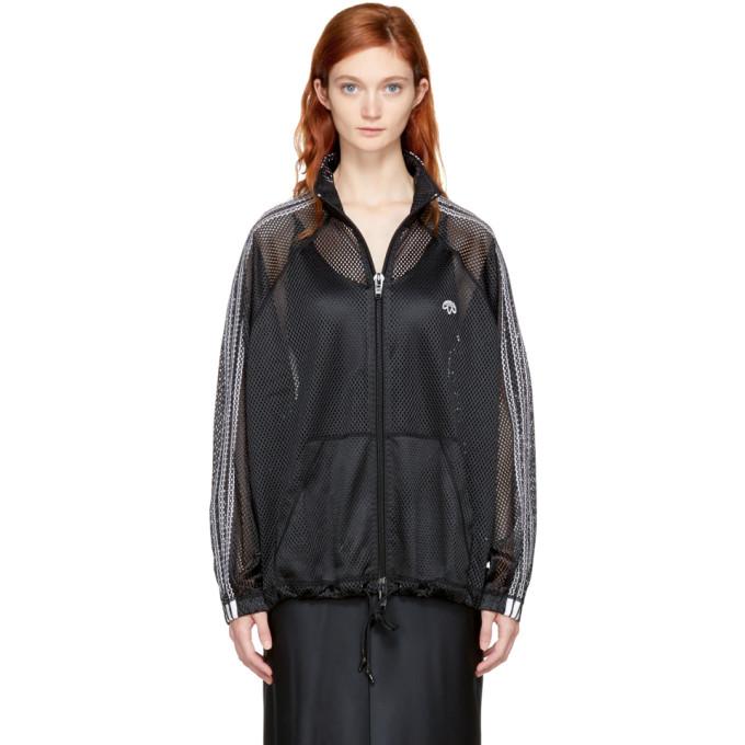 Adidas Originals By Alexander Wang Jackets Black AW Mesh Track Jacket