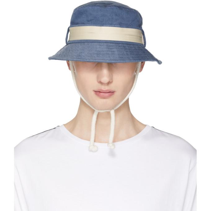 Acne Studios Blue Sun B Bucket Hat  c7a04e73d54a