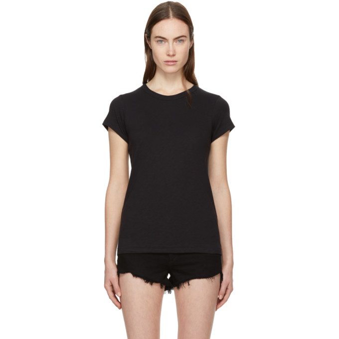 Black 'the Tee' T Shirt by Rag & Bone