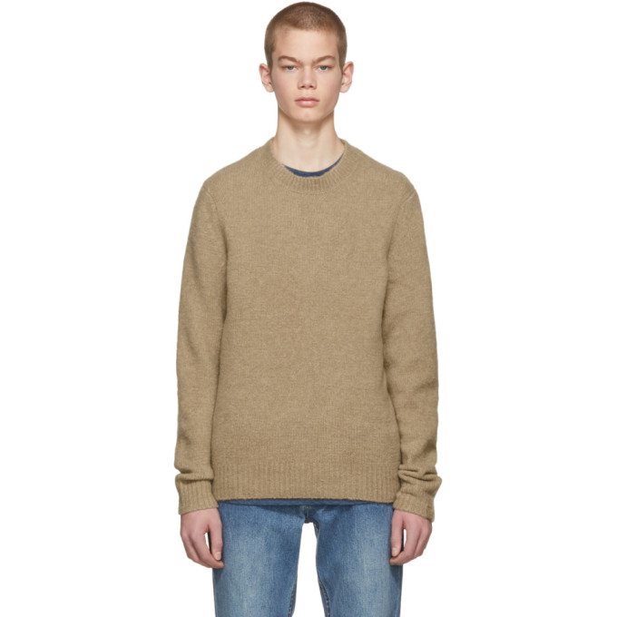 Tan Merino Charles Sweater by Rag & Bone