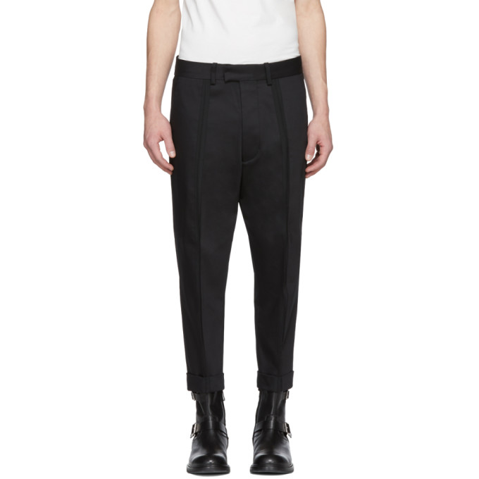 front pleat cropped trousers Diesel