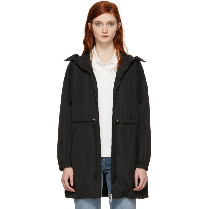 MONCLER BLACK TOPAZE COAT
