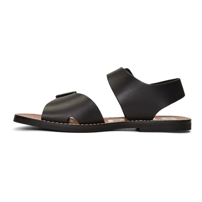 Basiel Leather Sandals Acne Studios