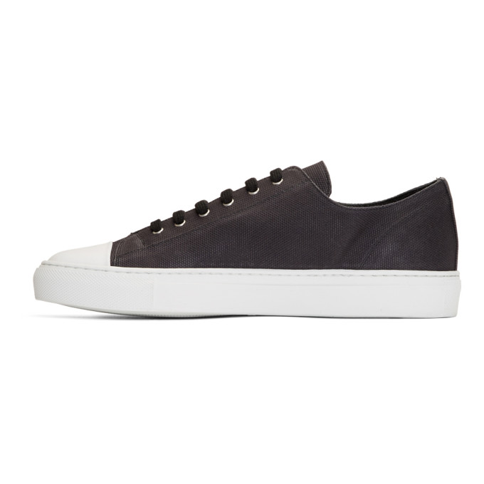 Cap-toe Canvas And Nubuck Sneakers - GreenCommon Projects