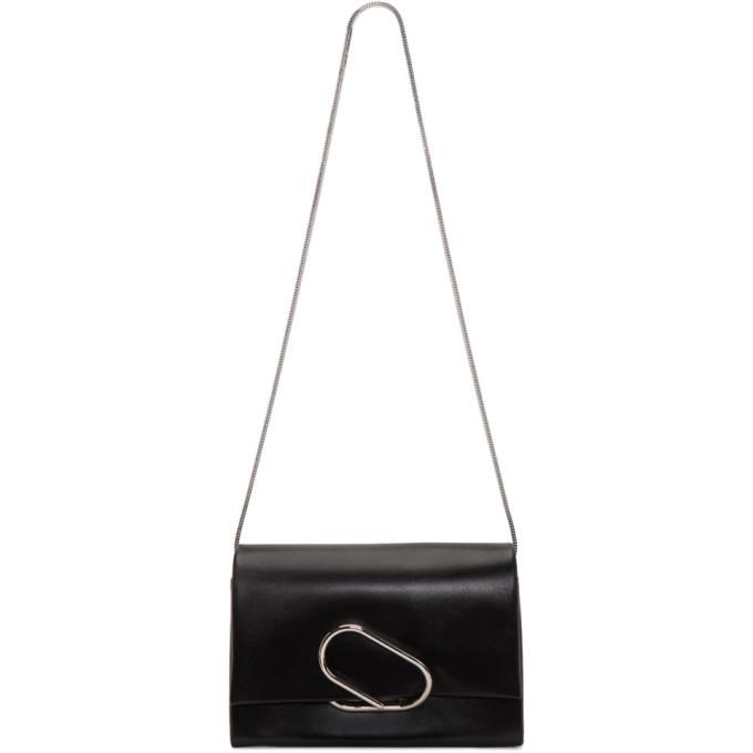 Phillip Lim Alix Bag In Black Leather, Ba010 Blk