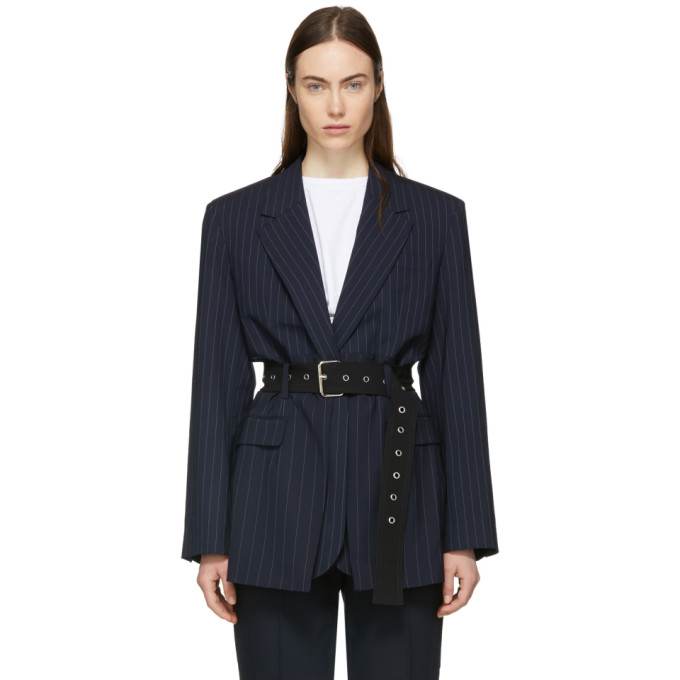 TAILORED JACKET WITH DECONSTRUCTED WAIST