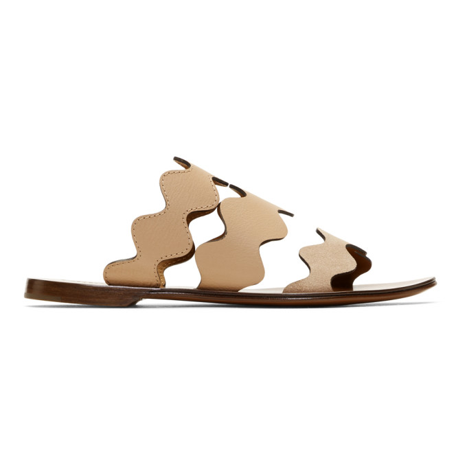 Pink Lauren Flat Sandals by ChloÉ