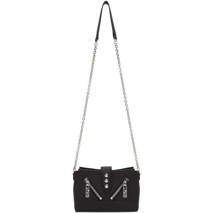 Black Mini Kalifornia Chain Bag by Kenzo