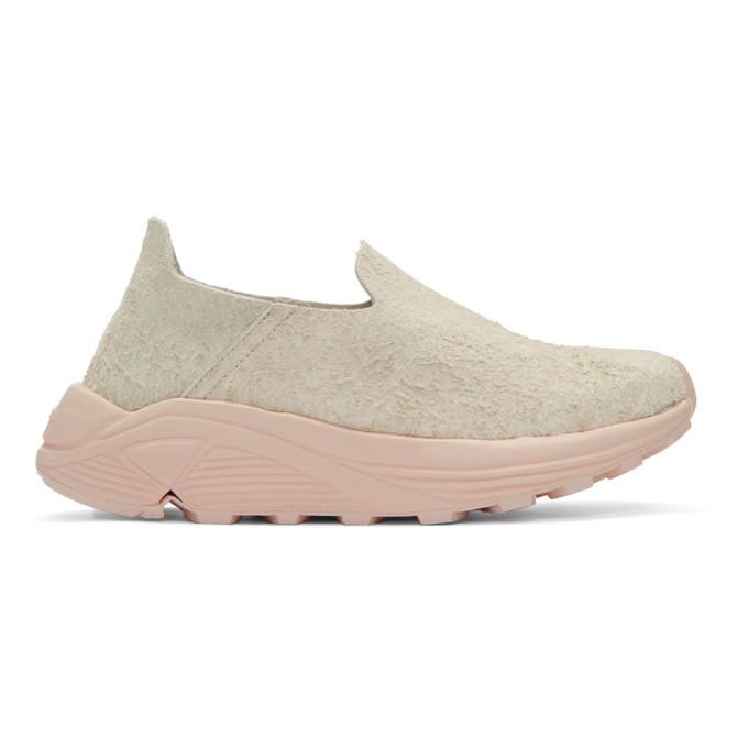Read more Beige & Pink Suede One Slip-On Sneakers