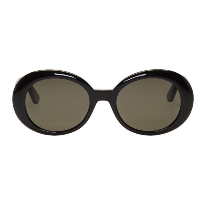 4c6a6956eb Saint Laurent Black Sl 98 California Sunglasses