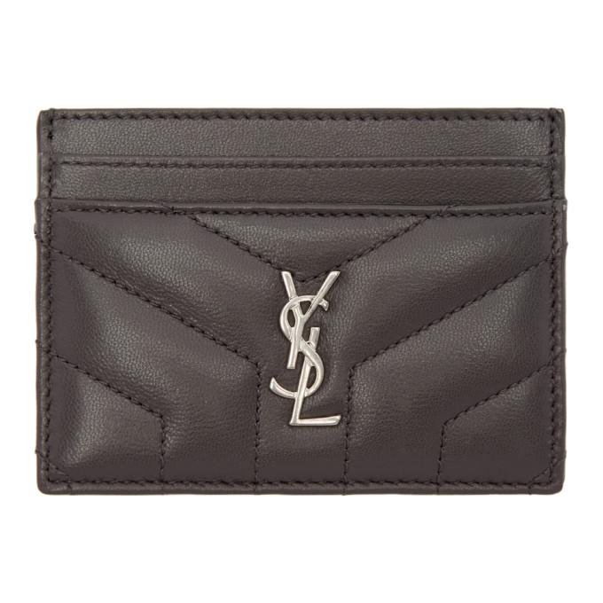 monogram card case