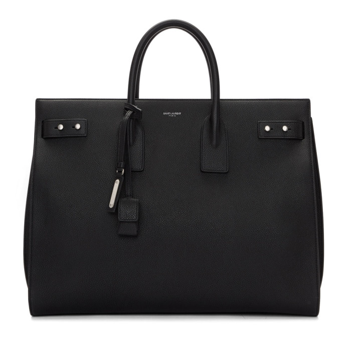 Sac De Jour Large Full-grain Leather Tote Bag Saint Laurent