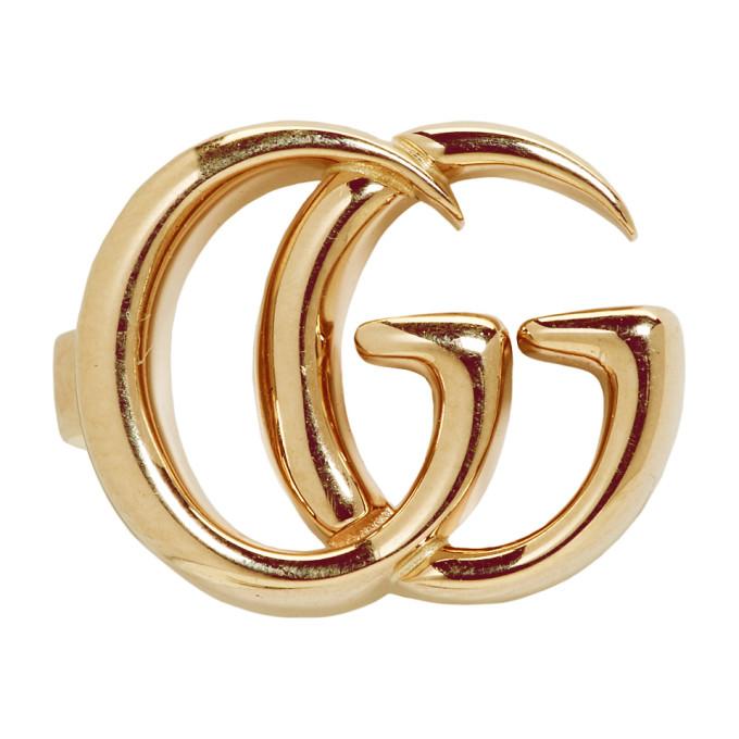 18Kt Yellow Gold Gg Mono Ear Cuff in 8000 Gold