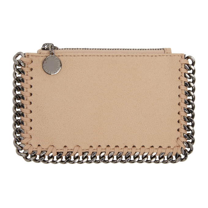 Pink Falabella Card Holder by Stella Mccartney