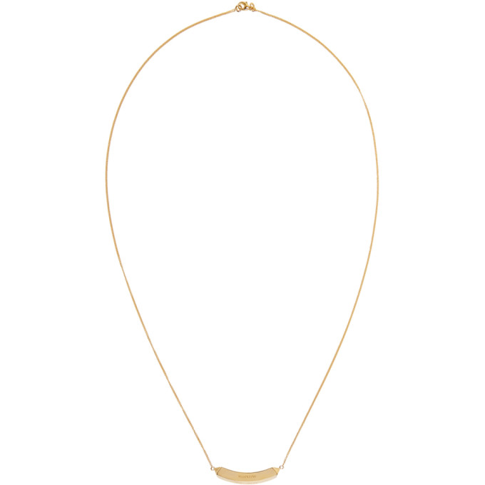Gold Valentino Garavani Always Necklace Valentino