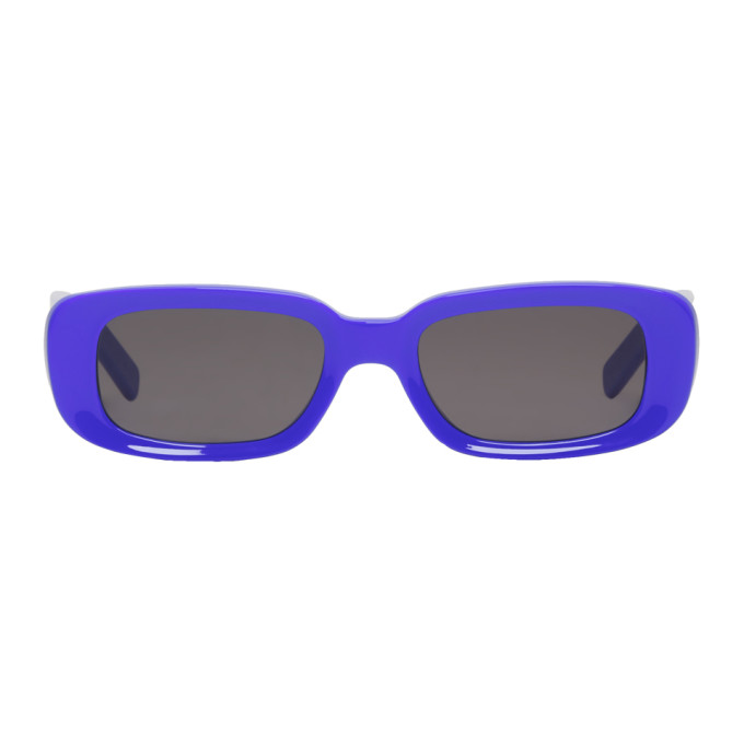 Blue 'For Your Eyes Only' Sunglasses