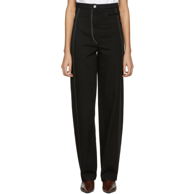 Black High Waisted Jeans by Lemaire