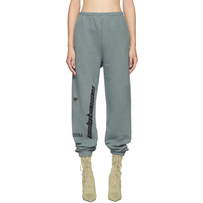 Yeezy Cottons BLUE CALABASAS FRENCH TERRY SWEATPANTS