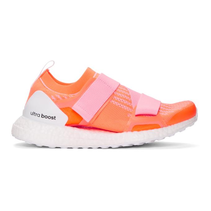 Pink & Orange Ultraboost X Sneakers by Adidas By Stella Mccartney