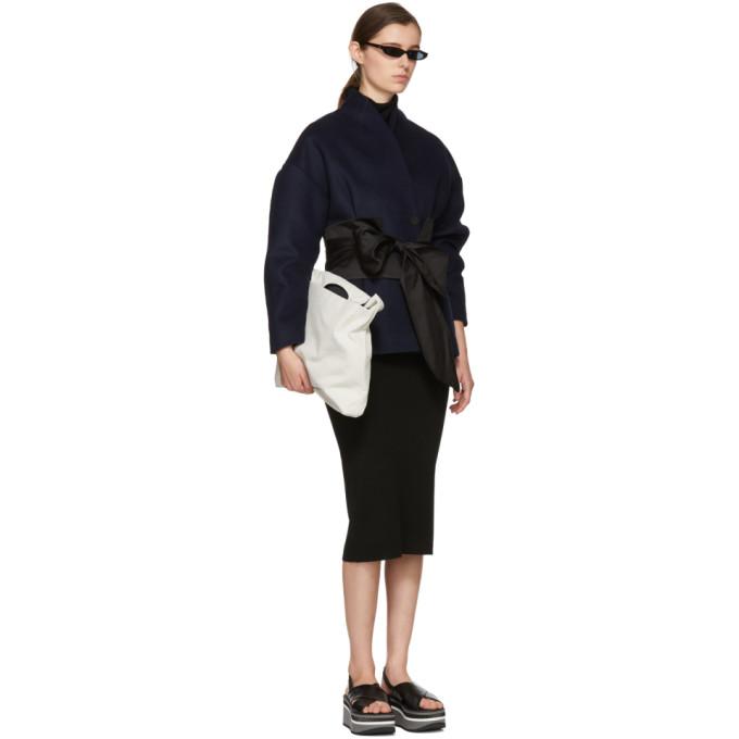 Black Wool Valpariso Turtleneck Dress Totême
