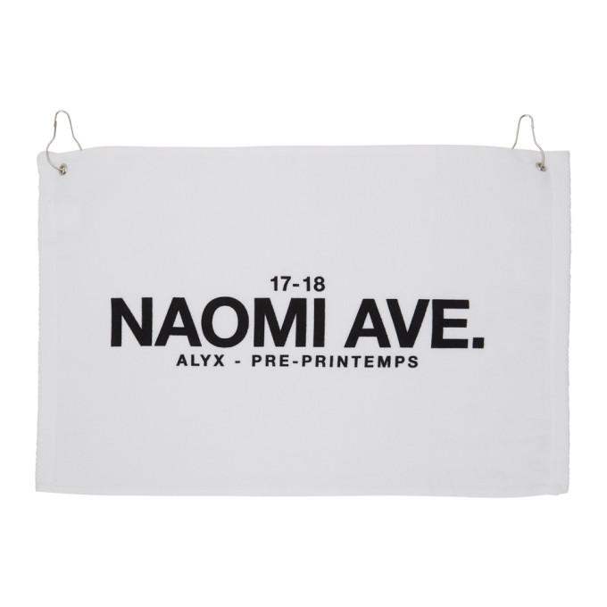 White 'Naomi Ave' Towel