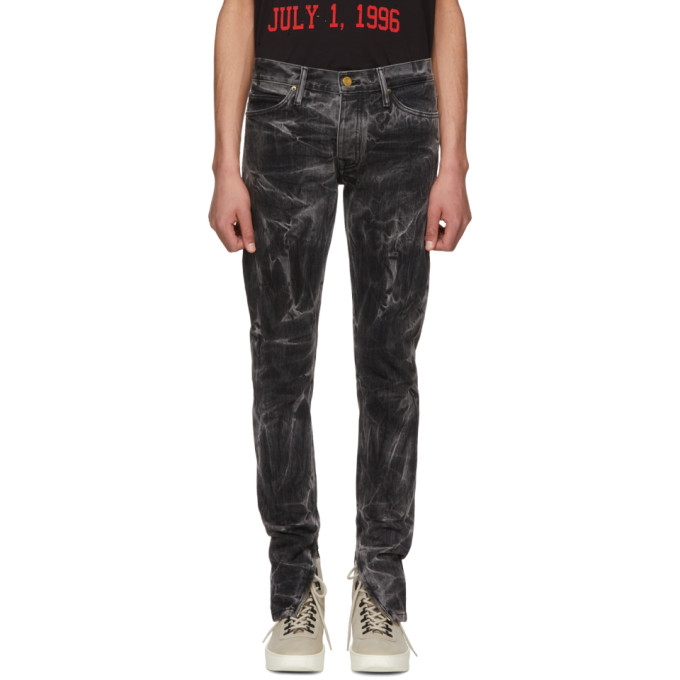 Black Selvedge Denim Holy Water Jeans