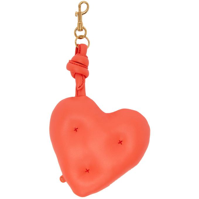 Anya Hindmarch Giant Chubby Heart charm - Red