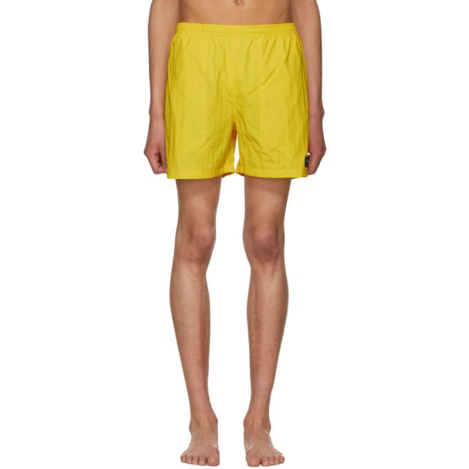 NOAH Noah Nyc Yellow Swim Shorts
