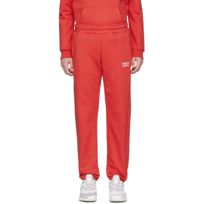 Red Logo Lounge Pants by Resort Corps