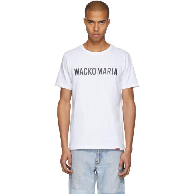 White Hw T Shirt by Wacko Maria