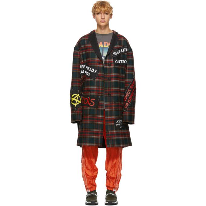 Multicolor Punk Coat by R13