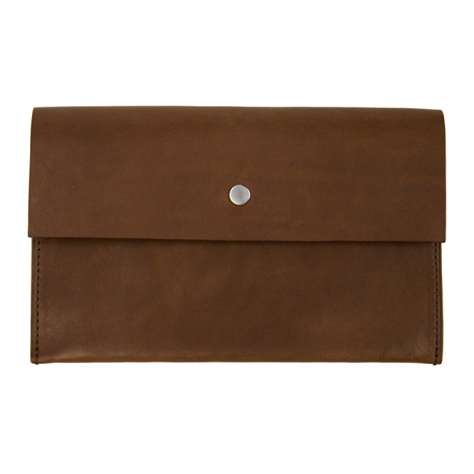 SULVAM Sulvam Brown Continental Wallet