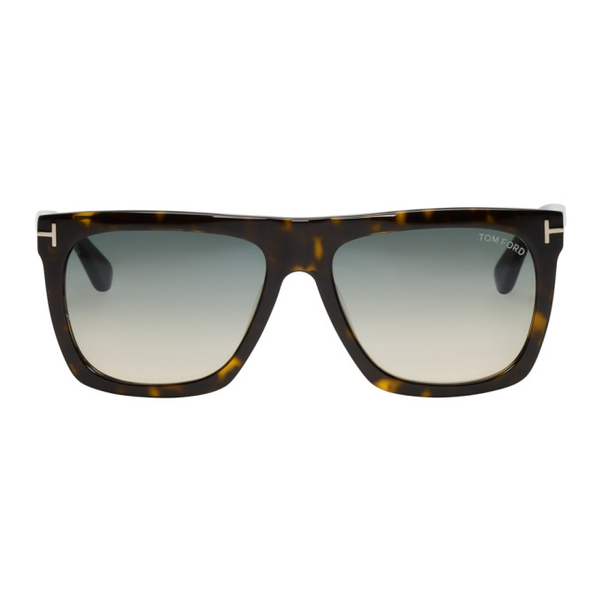 d067e0d4dc1 Tom Ford Tortoiseshell Morgan Sunglasses In 52W Hav Blu