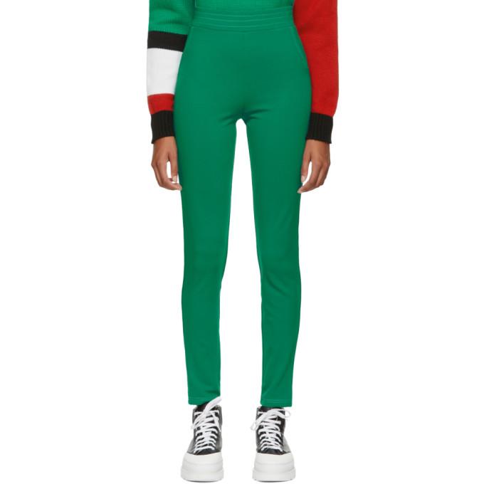 ANTON BELINSKIY Anton Belinskiy Green Stretch Trousers