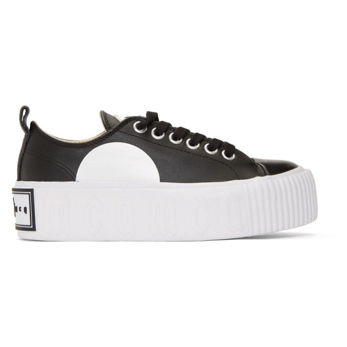 Mcq Alexander Mcqueen Platform Low Top Sneakers - Black, 1000 Black