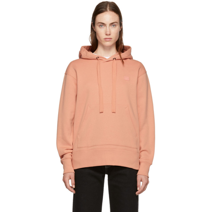 Pink Ferris Face Hoodie from SSENSE