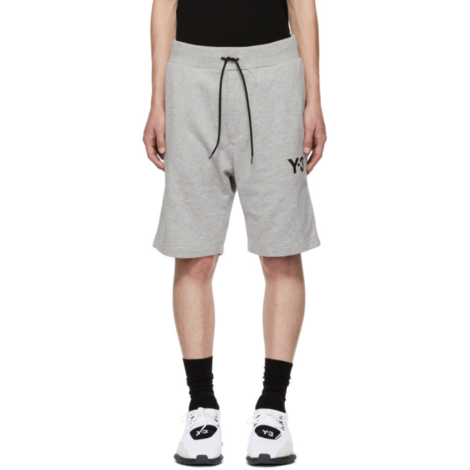 Y-3 Basic Track Shorts - Grey
