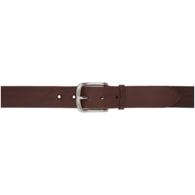 MAXIMUM HENRY BROWN AND SILVER VERY WIDE STANDARD BELT