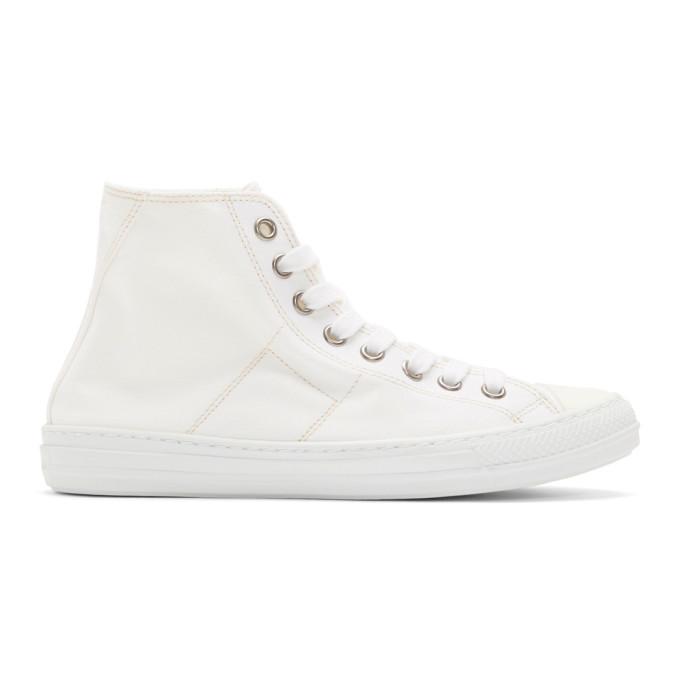 Maison MargielaStereotye High-Top Sneakers