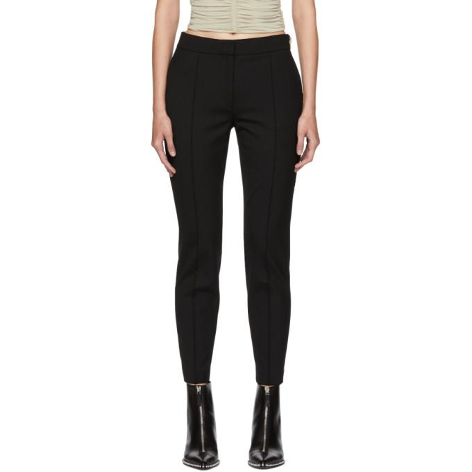Plain Trousers in 001 Black