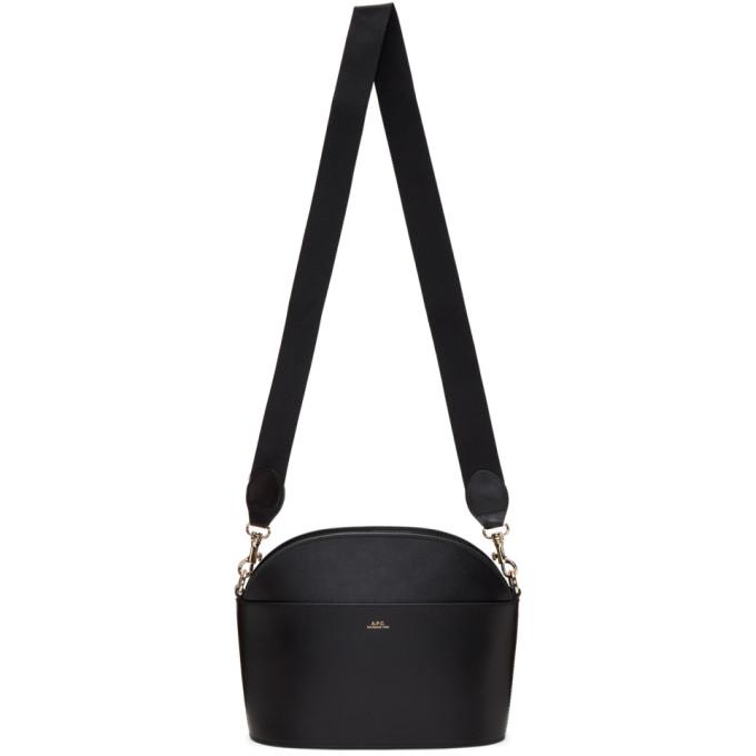 A.P.C. Black Gabrielle Bag, Lzz Noir