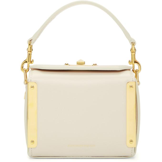 White Nano Box Bag from SSENSE