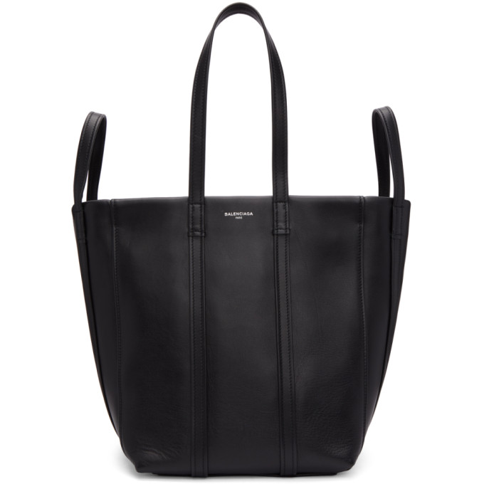 Laundry Cabas 4-Strap Leather Extra Large Tote Bag in 1000 Black