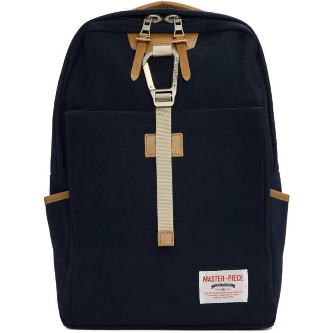 MASTER-PIECE CO Master-Piece Co Navy Link Backpack