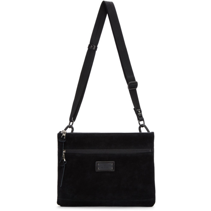 MASTER-PIECE CO Master-Piece Co Black Revise Waterproof Messenger Bag