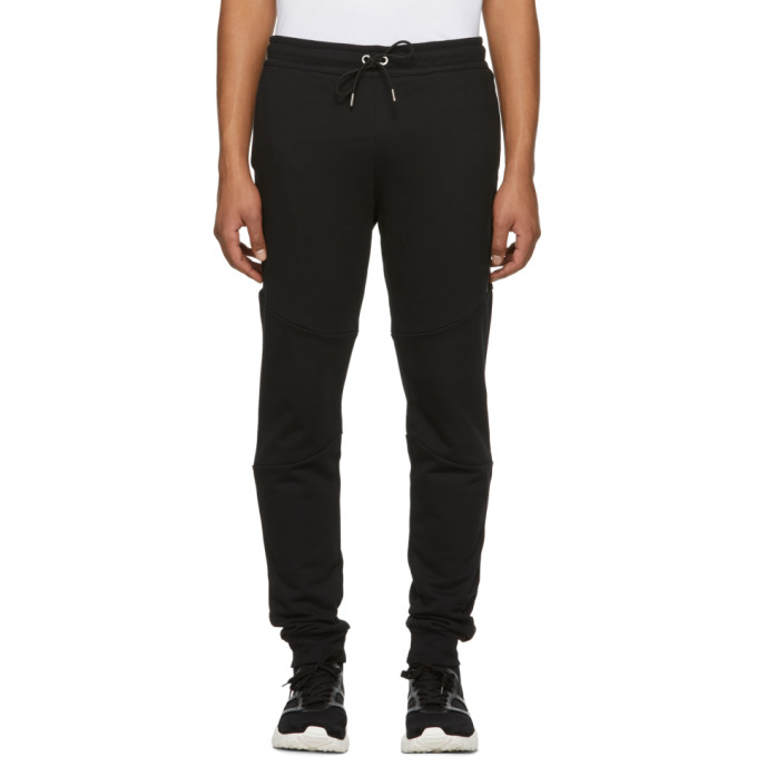 VERSUS BLACK SIDE TAPE LOUNGE PANTS