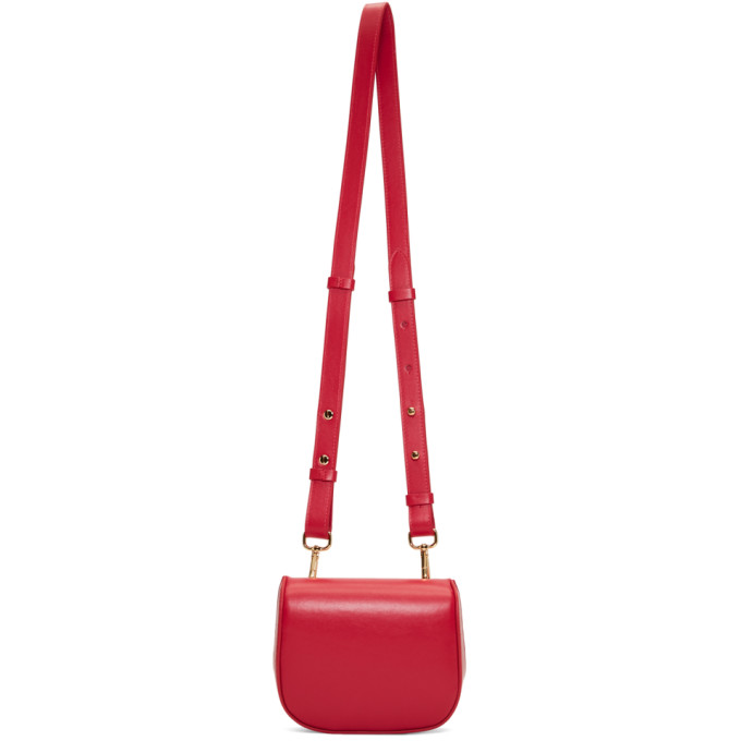 Red Mini Box Belt Bag from SSENSE