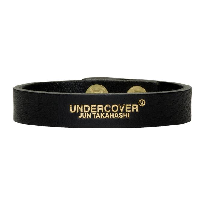 Undercover UNDERCOVER BLACK LOGO BRACELET