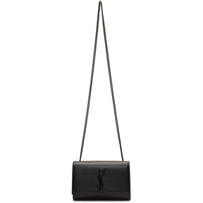 SAINT LAURENT BLACK SMALL KATE BAG