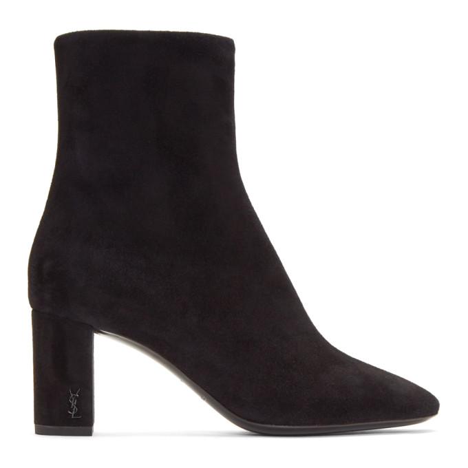 Loulou Ankle Boots in Black